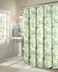 M.Style Shadow Garden Shower Curtain