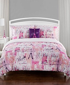 City of Lights Full 7 Piece Comforter Set