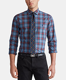 Polo Ralph Lauren Men's Slim Fit Stretch Poplin Button-Down Shirt