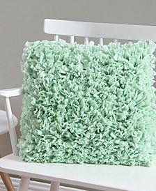 Anika 18x18 Paper Shag Pillow