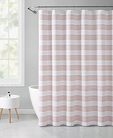 "Stripe Eyelet 72"" x 72"" Shower Curtain"