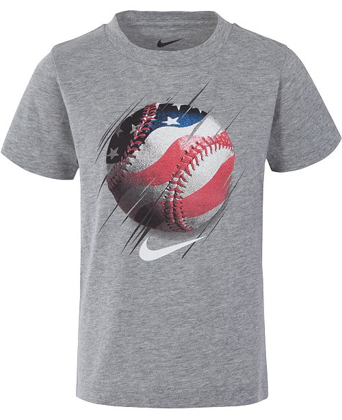 Nike Toddler Boys Baseball-Print T-Shirt