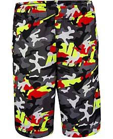 Nike Little Boys Camo-Print Dri-FIT Shorts