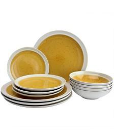Clementine 12 Piece Dinnerware Set