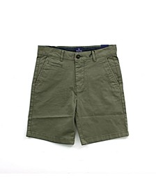 Little and Big Boys Twill Dress Shorts