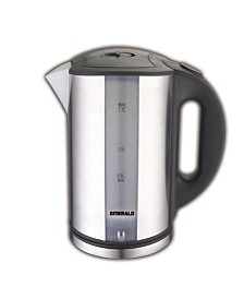 Emerald 1.8L Electric Stainless Steel Tea Kettle With LED Light