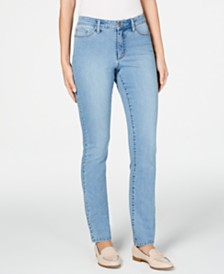 Charter Club Lexington Tummy-Control Straight-Leg Jeans, Created for Macy's