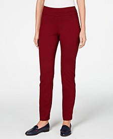 Cambridge Pull-On Ponte Pants, Created for Macy's