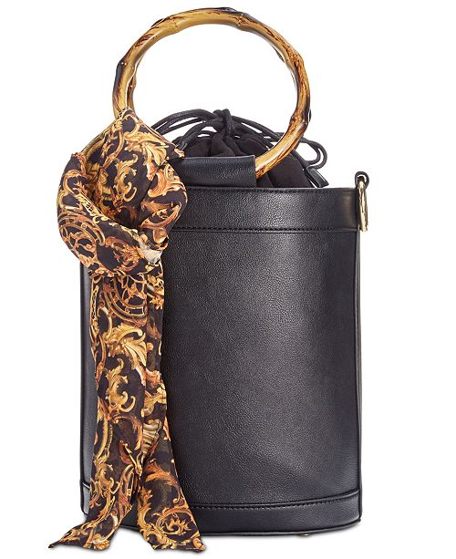 INC International Concepts INC Bamboo Bucket Crossbody, Created for Macy's