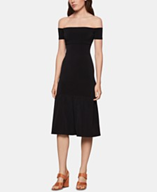BCBGeneration Off-The-Shoulder Mermaid-Hem Dress