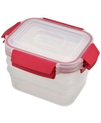 Nest Lock 6-Pc. Food Storage Container Set