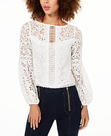 Crochet-Lace Blouse