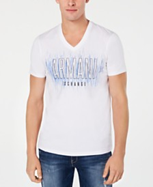 A|X Armani Exchange Men's Slim-Fit Stenciled Logo T-Shirt