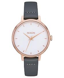 Nixon Women's Medium Kensington Leather Strap Watch 32mm