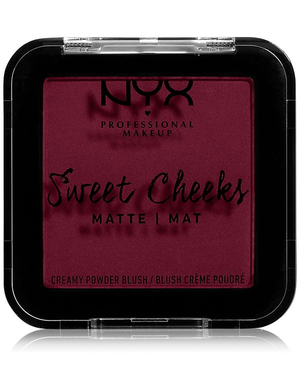 NYX Professional Makeup Sweet Cheeks Creamy Powder Matte Blush