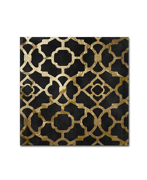 """Trademark Global Color Bakery 'Moroccan Gold IV' Canvas Art - 14"""" x 14"""""""