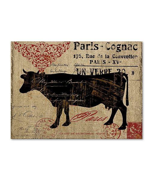 "Trademark Global Color Bakery 'Paris Farms I' Canvas Art - 24"" x 32"""