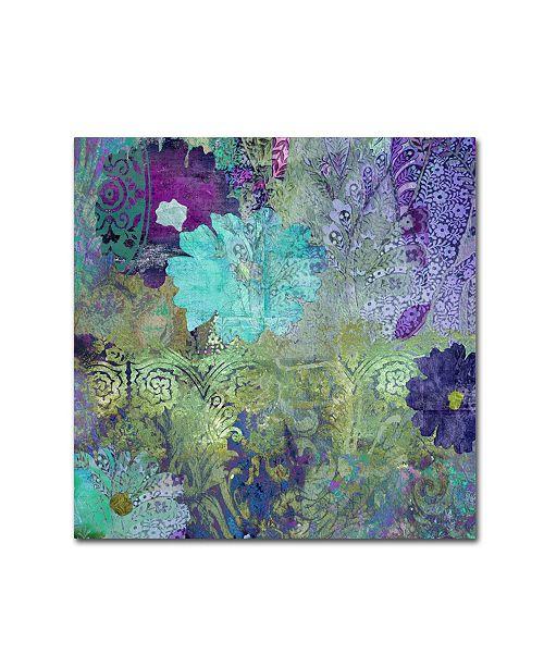 "Trademark Global Color Bakery 'Kismet' Canvas Art - 35"" x 35"""