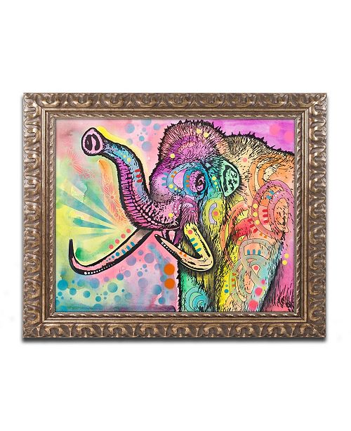 "Trademark Global Dean Russo 'Woolly Mammoth' Ornate Framed Art - 16"" x 20"""