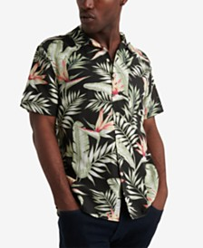 Lucky Brand Men's Tropical Shirt