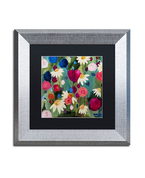 "Trademark Global Carrie Schmitt 'Reflection' Matted Framed Art - 11"" x 11"""