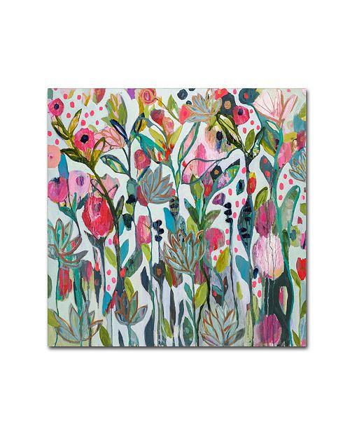 """Trademark Global Carrie Schmitt 'Protect Your Soul' Canvas Art - 14"""" x 14"""""""