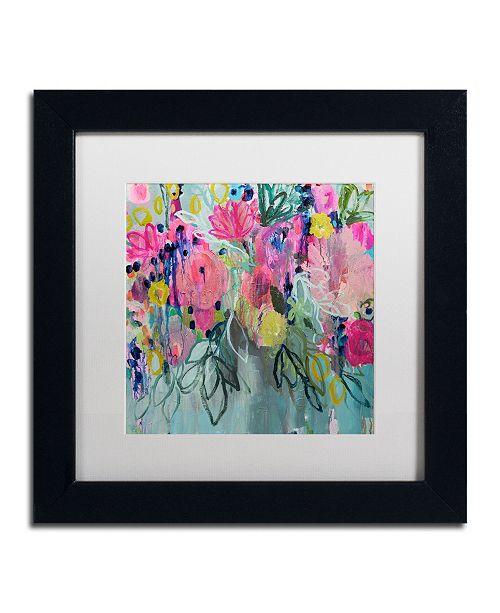 """Trademark Global Carrie Schmitt 'So Special Love' Matted Framed Art - 11"""" x 11"""""""