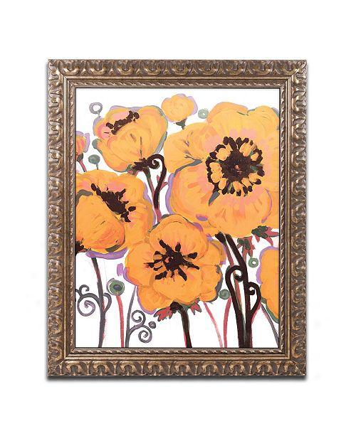 "Trademark Global Natasha Wescoat '008' Ornate Framed Art - 11"" x 14"""