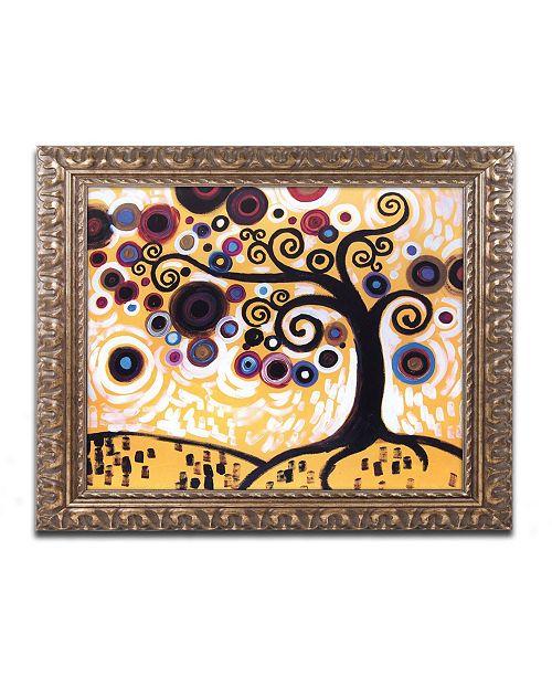 "Trademark Global Natasha Wescoat '010' Ornate Framed Art - 16"" x 20"""