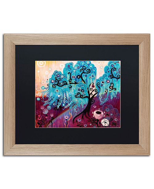 "Trademark Global Natasha Wescoat '033' Matted Framed Art - 16"" x 20"""