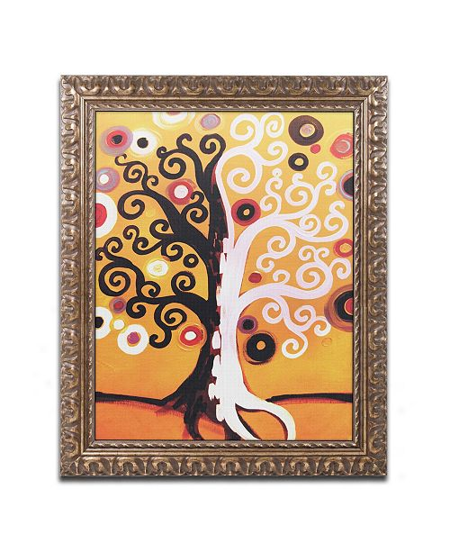 "Trademark Global Natasha Wescoat '067' Ornate Framed Art - 16"" x 20"""