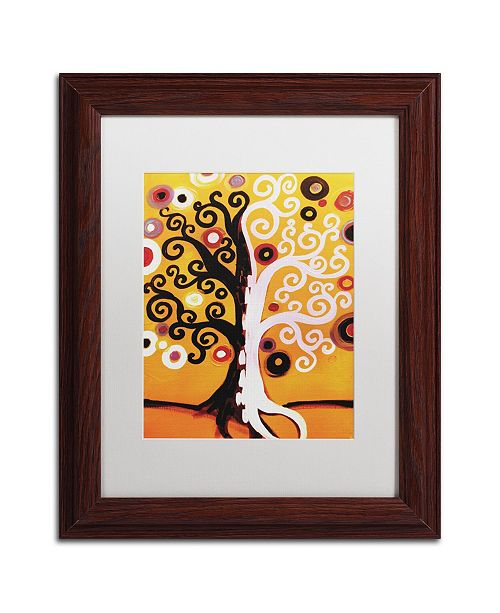 "Trademark Global Natasha Wescoat '067' Matted Framed Art - 11"" x 14"""