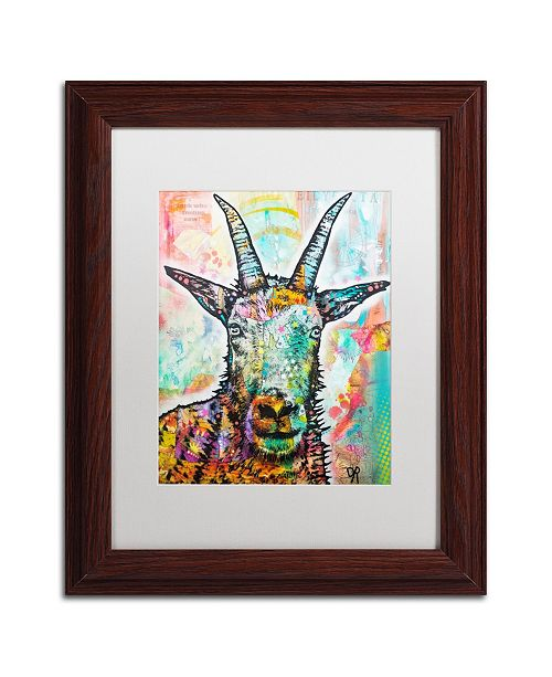 """Trademark Global Dean Russo 'Look Who Smiling Now' Matted Framed Art - 11"""" x 14"""""""