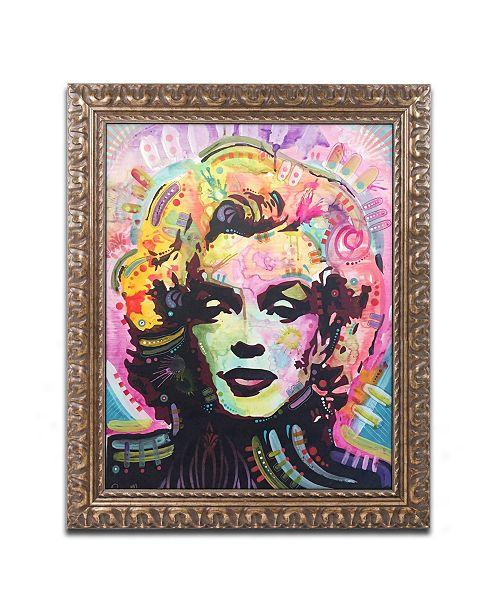 """Trademark Global Dean Russo 'Marilyn 1' Ornate Framed Art - 11"""" x 14"""""""