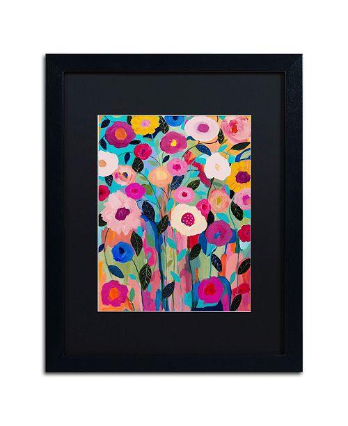 """Trademark Global Carrie Schmitt 'Autumn Splendor' Matted Framed Art - 16"""" x 20"""""""