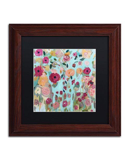 """Trademark Global Carrie Schmitt 'Gypsy Soul' Matted Framed Art - 11"""" x 11"""""""