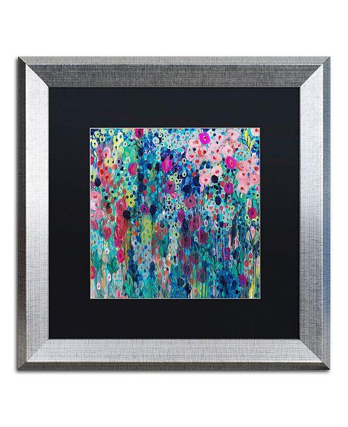 """Trademark Global Carrie Schmitt 'Painted Strings' Matted Framed Art - 16"""" x 16"""""""