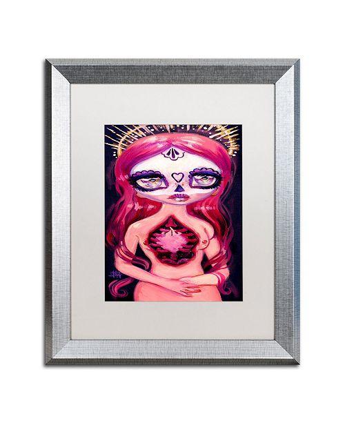"Trademark Global Natasha Wescoat 'Deeply Fated' Matted Framed Art - 16"" x 20"""