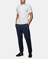 654702bd3 BOSS Men's Philix 1 Slim-Fit Perforated Polo Shirt