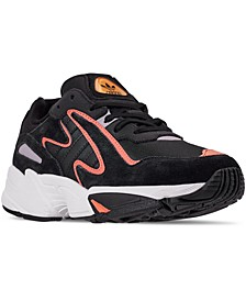 Big Boys' Yung-96 Chasm Athletic Casual Sneakers from Finish Line