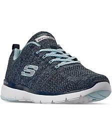Skechers Women's Flex Appeal 3.0 - High Tides Walking Sneakers from Finish Line