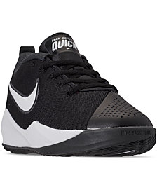 Nike Big Boys' Team Hustle Quick 2 Basketball Sneakers from Finish Line