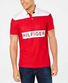 Tommy Hilfiger Men's Slim-Fit Neff Logo Graphic Polo Shirt