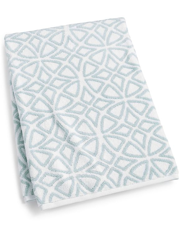 """Hotel Collection Connections Cotton 30"""" x 56"""" Bath Towel, Created for Macy's"""