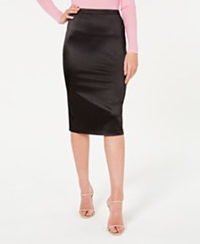 Material Girl Juniors' Midi Pencil Skirt, Created for Macy's