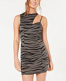 Material Girl Juniors' One-Shoulder Bodycon Dress, Created for Macy's
