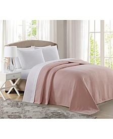 100% Cotton Deluxe Woven Full/Queen Blanket