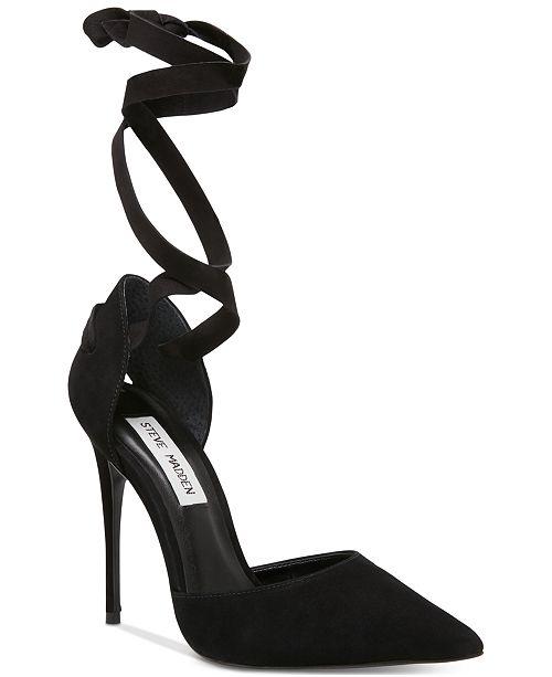 f7a95e544ef Women's Harlie Ankle-Tie Pumps