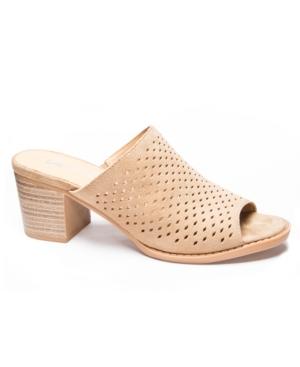 Take All Split Peep Toe Mules Women's Shoes