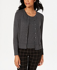 Cardigan & Sleeveless Crewneck Sweater, Created for Macy's